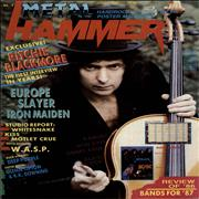 Click here for more info about 'Ritchie Blackmore - Metal Hammer - January 1987'