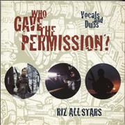 Click here for more info about 'Riz All Stars - Who Gave The Permission?'