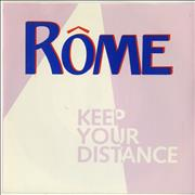Click here for more info about 'Rôme - Keep Your Distance'