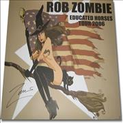 Click here for more info about 'Rob Zombie - Educated Horses Tour 2006 - AUTOGRAPHED'