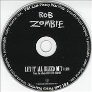 Click here for more info about 'Rob Zombie - Let It All Bleed Out'
