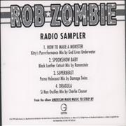 Click here for more info about 'Rob Zombie - Radio Sampler'
