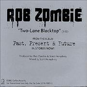 Click here for more info about 'Rob Zombie - Two-Lane Blacktop'