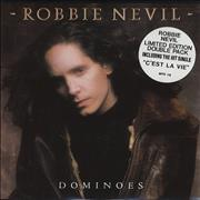 Click here for more info about 'Robbie Nevil - Dominoes - Double Pack + C'Est La Vie'