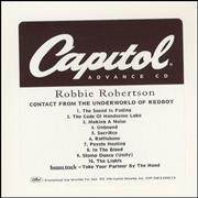 Click here for more info about 'Robbie Robertson - Contact From The Underworld Of Redboy'