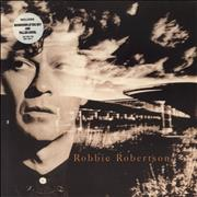 Click here for more info about 'Robbie Robertson - Robbie Robertson - Circular Stickered Sleeve'