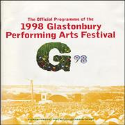 Click here for more info about 'Robbie Williams - 1998 Glastonbury Performing Arts Festival'
