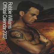 Click here for more info about 'Robbie Williams - 2002 Official Calendar'