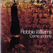 Click here for more info about 'Robbie Williams - Come Undone - Withdrawn Sleeve'