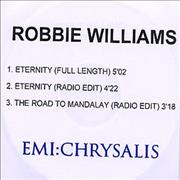 Click here for more info about 'Robbie Williams - Eternity'