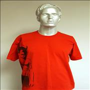 Robbie Williams European Tour 2003 - Red/Extra large UK t-shirt