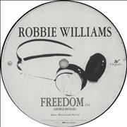 Click here for more info about 'Robbie Williams - Freedom'