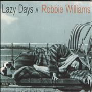 Click here for more info about 'Robbie Williams - Lazy Days'