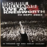 Click here for more info about 'Robbie Williams - Live At Knebworth Poster'
