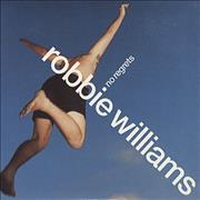 Click here for more info about 'Robbie Williams - No Regrets - enhanced C5 (UK)'