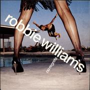 "Robbie Williams No Regrets UK 7"" vinyl"