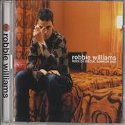 Robbie Williams Rock DJ Special Sampler Japan 2-CD album set Promo
