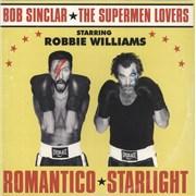 "Robbie Williams Romantico Starlight - Gold Vinyl - Sealed UK 12"" vinyl"