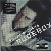 Robbie Williams Rudebox UK 2-disc CD/DVD set
