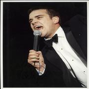 Click here for more info about 'Robbie Williams - Signed Photograph'