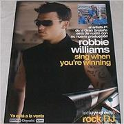 Click here for more info about 'Robbie Williams - Sing When You're Winning - 16