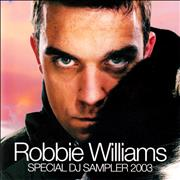 Robbie Williams Special DJ Sampler Japan CD album Promo