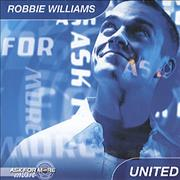 Click here for more info about 'Robbie Williams - United CD + Carrier Bag'
