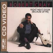 Click here for more info about 'Robert Cray - Right Next Door (Because Of Me) - CD-Video'