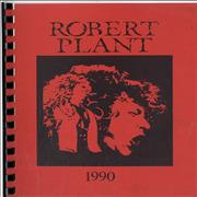 Click here for more info about 'Robert Plant - 1990 UK Tour'