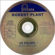 Click here for more info about 'Robert Plant - 29 Palms'
