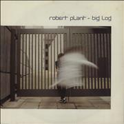 Click here for more info about 'Robert Plant - Big Log - P/S'