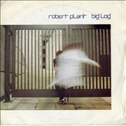 Click here for more info about 'Robert Plant - Big Log - P/S - Solid'