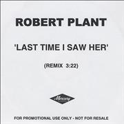 Click here for more info about 'Robert Plant - Last Time I Saw Her'