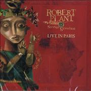 Click here for more info about 'Robert Plant - Live In Paris'