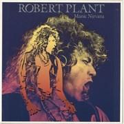 Robert Plant Manic Nirvana UK vinyl LP