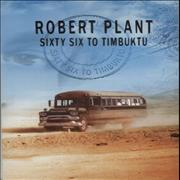 Click here for more info about 'Robert Plant - Sixty Six To Timbuktu'