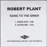 Click here for more info about 'Robert Plant - Song To The Siren '
