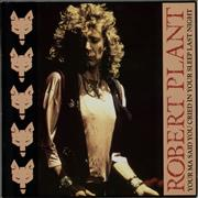 Click here for more info about 'Robert Plant - Your Ma Said You Cried In Your Sleep Last Night'
