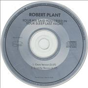 Click here for more info about 'Robert Plant - Your Ma Said You Cried In Your Sleep'