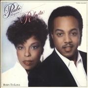 Click here for more info about 'Roberta Flack And Peabo Bryson - Born To Love - White label - EX'