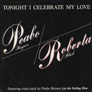 Click here for more info about 'Roberta Flack And Peabo Bryson - Tonight I Celebrate My Love - p/s'