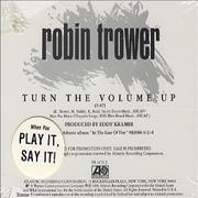 Click here for more info about 'Robin Trower - Turn The Volume Up'
