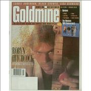Click here for more info about 'Robyn Hitchcock - Goldmine - October 1996'