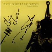 Click here for more info about 'Rocco Deluca And The Burden - I Trust You To Kill Me - Autographed'