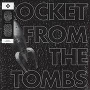 Rocket From The Tombs Black Record - Silver USA vinyl LP