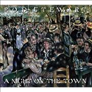 Rod Stewart A Night On The Town UK 2-CD album set