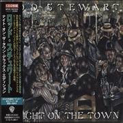 Rod Stewart A Night On The Town Japan 2-CD album set Promo