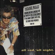Click here for more info about 'Rod Stewart - All Rod All Night + Ticket Stub'