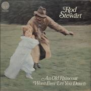 Click here for more info about 'Rod Stewart - An Old Raincoat - 4th - EX'