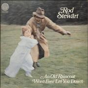 Click here for more info about 'Rod Stewart - An Old Raincoat - Spaceship Label'